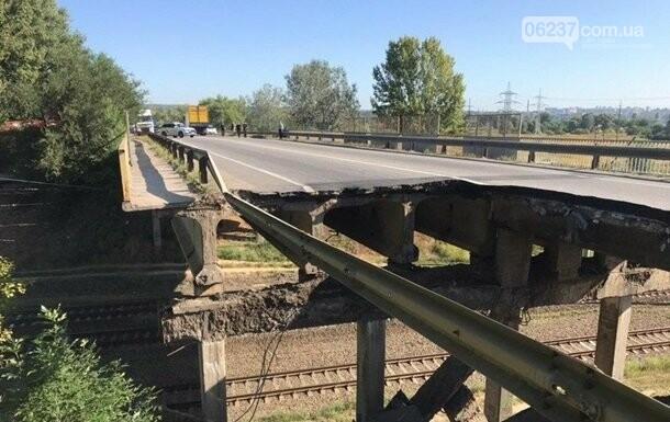 Укравтодор объяснил, почему упал мост в Харькове, фото-1