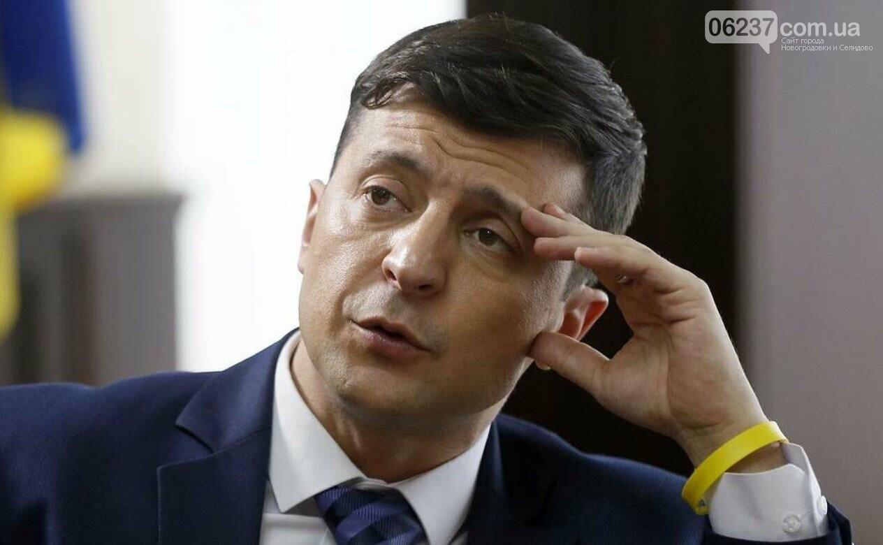 Зеленский дал интервью о 100 днях президентства актеру из сериала, фото-1