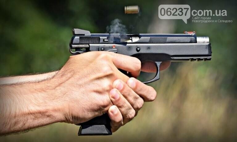 В Покровске произошла стрельба на заправке, фото-1