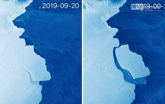 В Антарктиде откололся крупнейший за последние полвека айсберг, фото-1