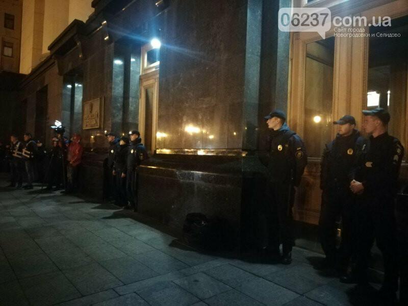 В центр Киева стянули силовиков из-за протестов под Офисом президента, фото-2