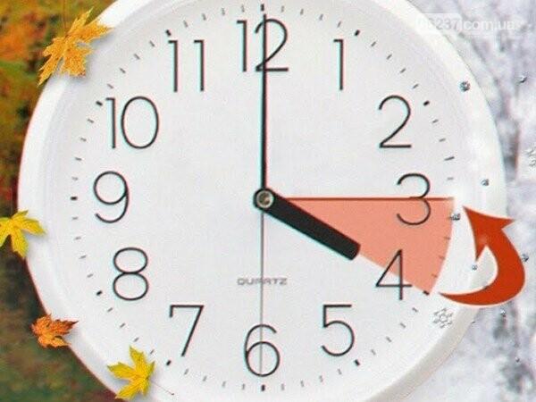 Этой ночью в Украине переводят часы на зимнее время, фото-1