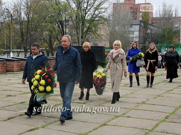 В Селидово отметили День освобождения Украины от фашистских захватчиков, фото-1