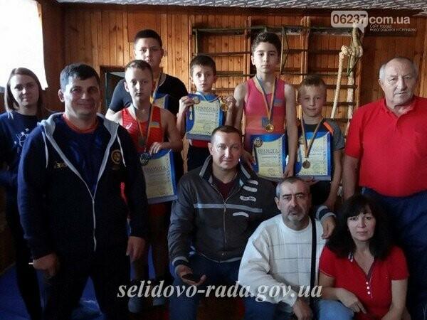 В Селидово прошел открытый городской турнир по вольной борьбе, фото-1
