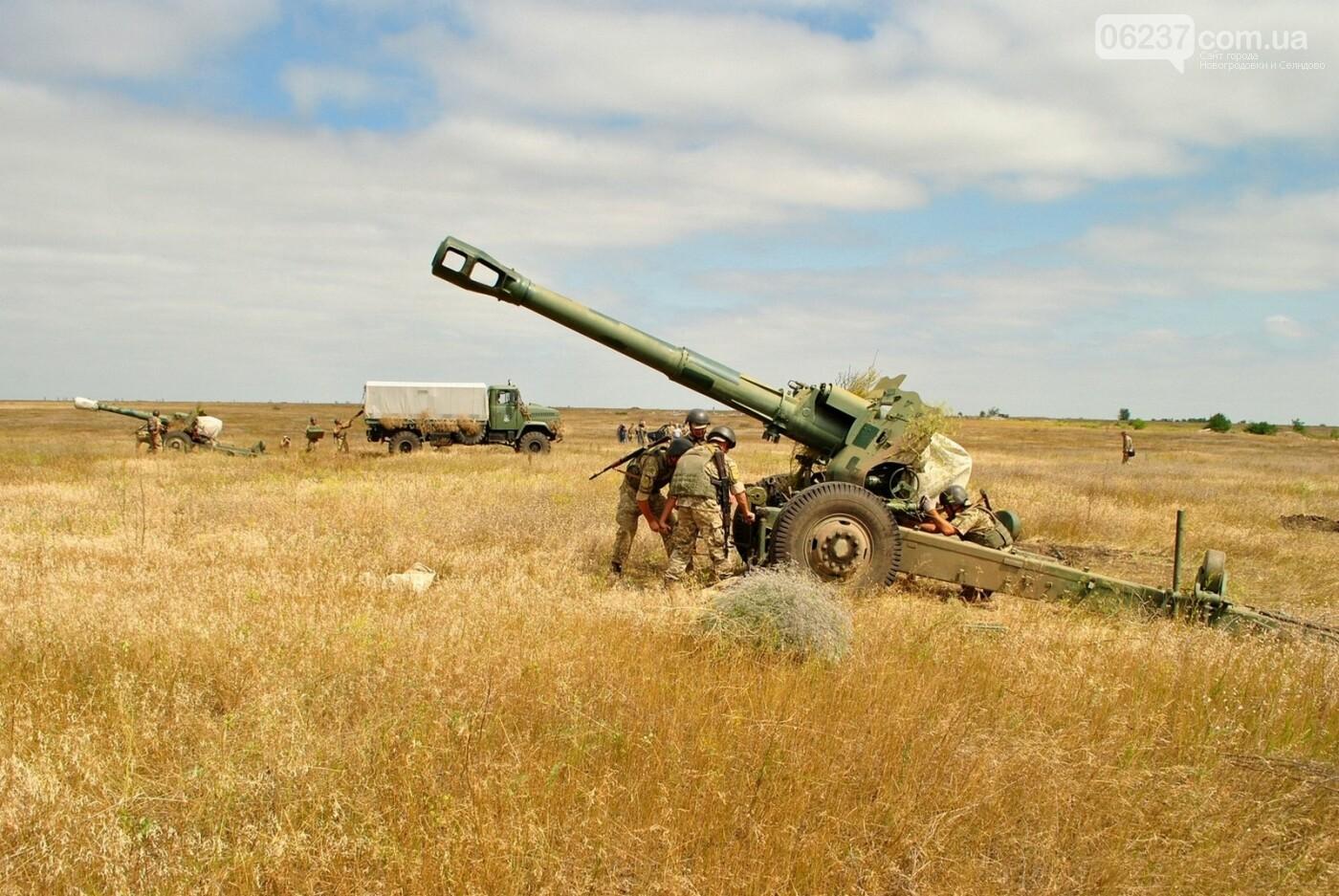Зеленский попросил артиллеристов «держать порох сухим», фото-1