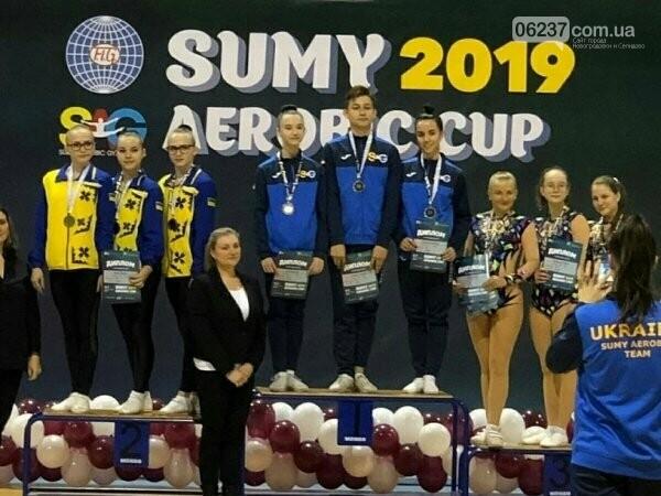 Спортсмены из Горняка собрали урожай медалей на Всеукраинском турнире по спортивной аэробике, фото-1