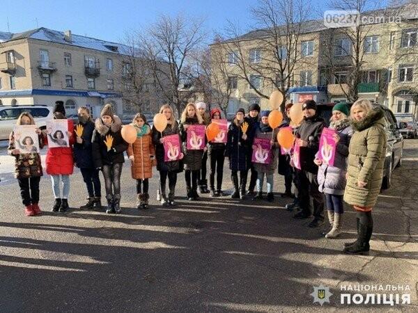В Селидово прошла Всеукраинская акция против насилия, фото-1