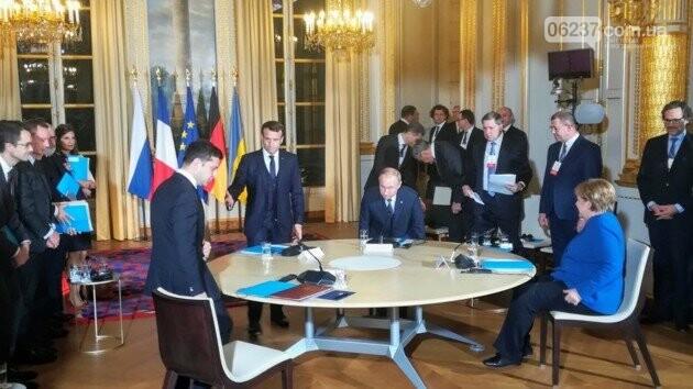Впервые за три года: в Париже началась встреча «Нормандской четверки», фото-1