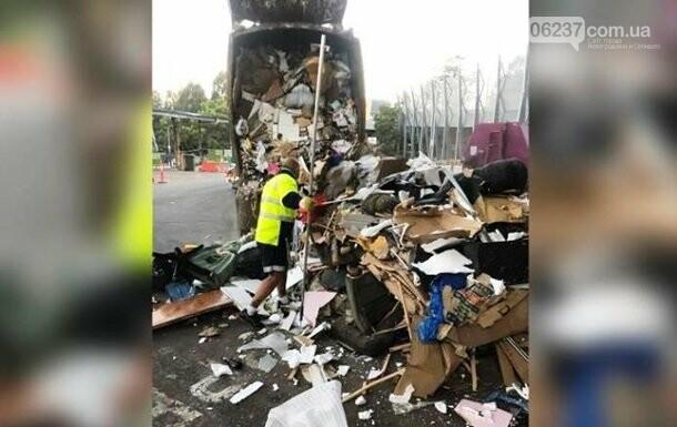 Молодожены перебрали 30 тонн мусора, чтобы найти обручальные кольца, фото-1