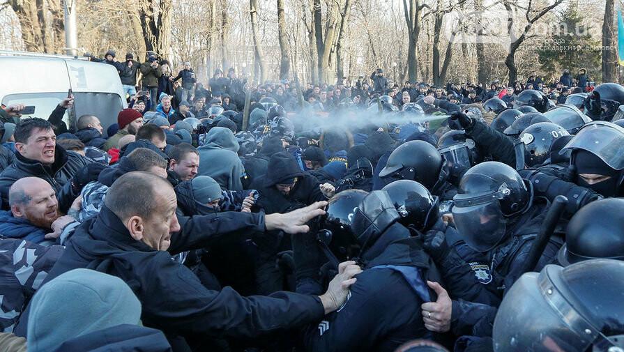 Итоги стычек под Радой: 17 полицейских пострадало, 26 протестующих задержано, фото-1