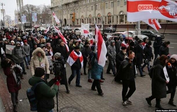 В Минске митингуют против интеграции с РФ, фото-2