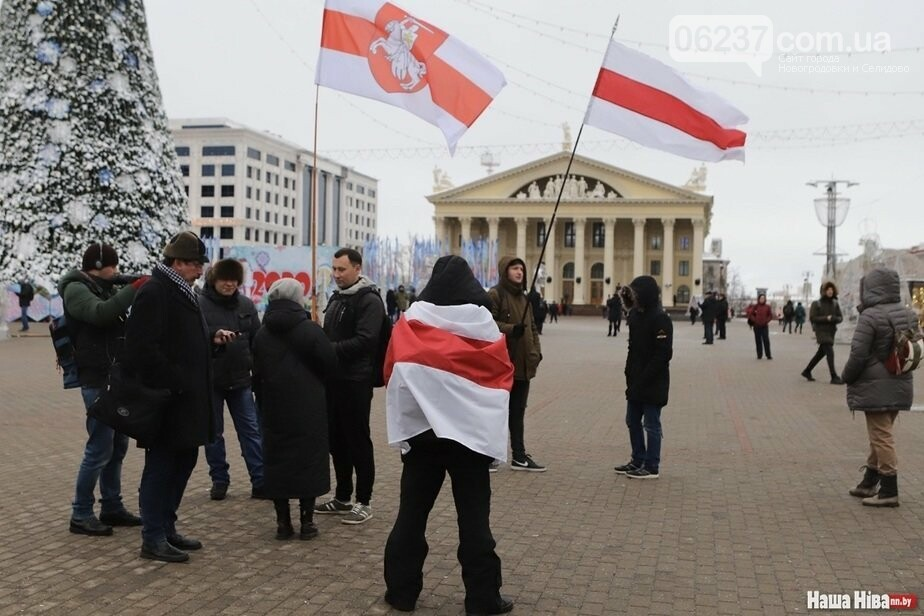 В Минске митингуют против интеграции с РФ, фото-1