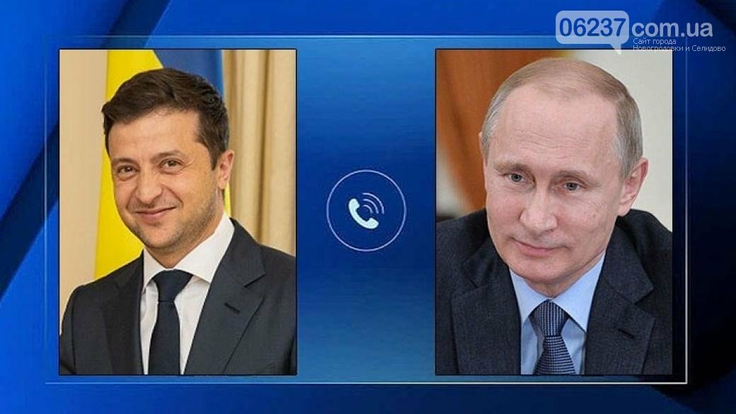 Зеленский и Путин созвонились в канун Нового года, фото-1