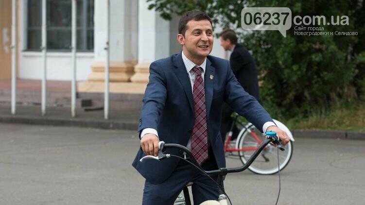 Зеленский объяснил, почему не сдержал обещание ездить на велосипеде, фото-1