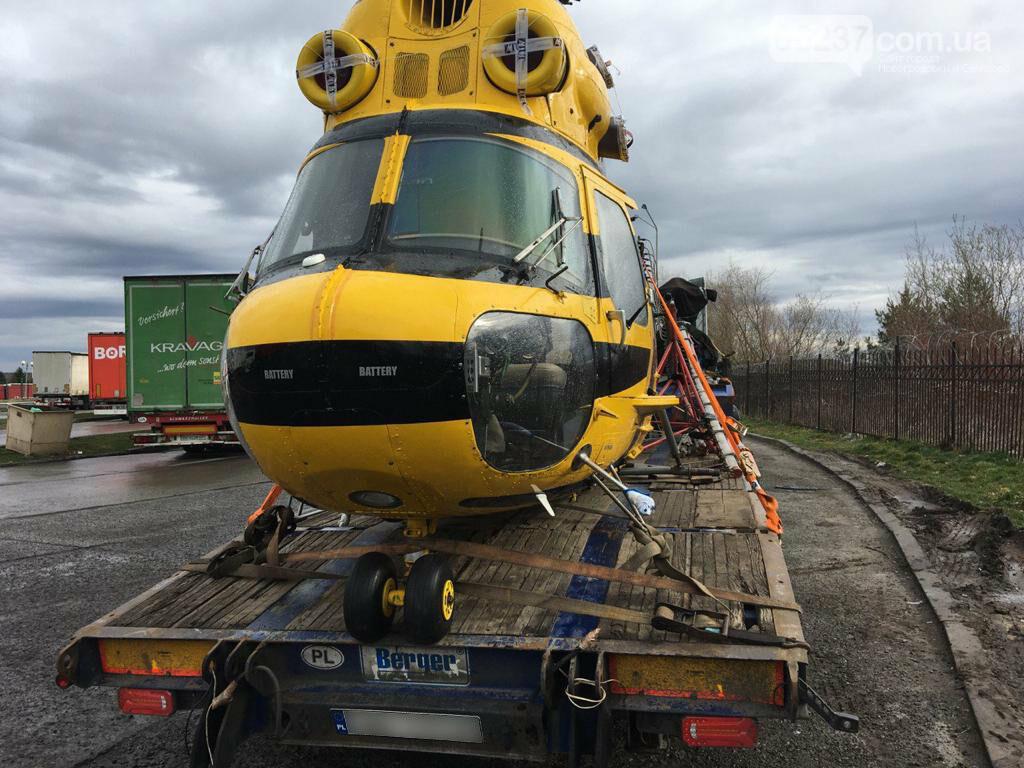 В Украину из Польши пытались нелегально провезти целый вертолет, фото-1