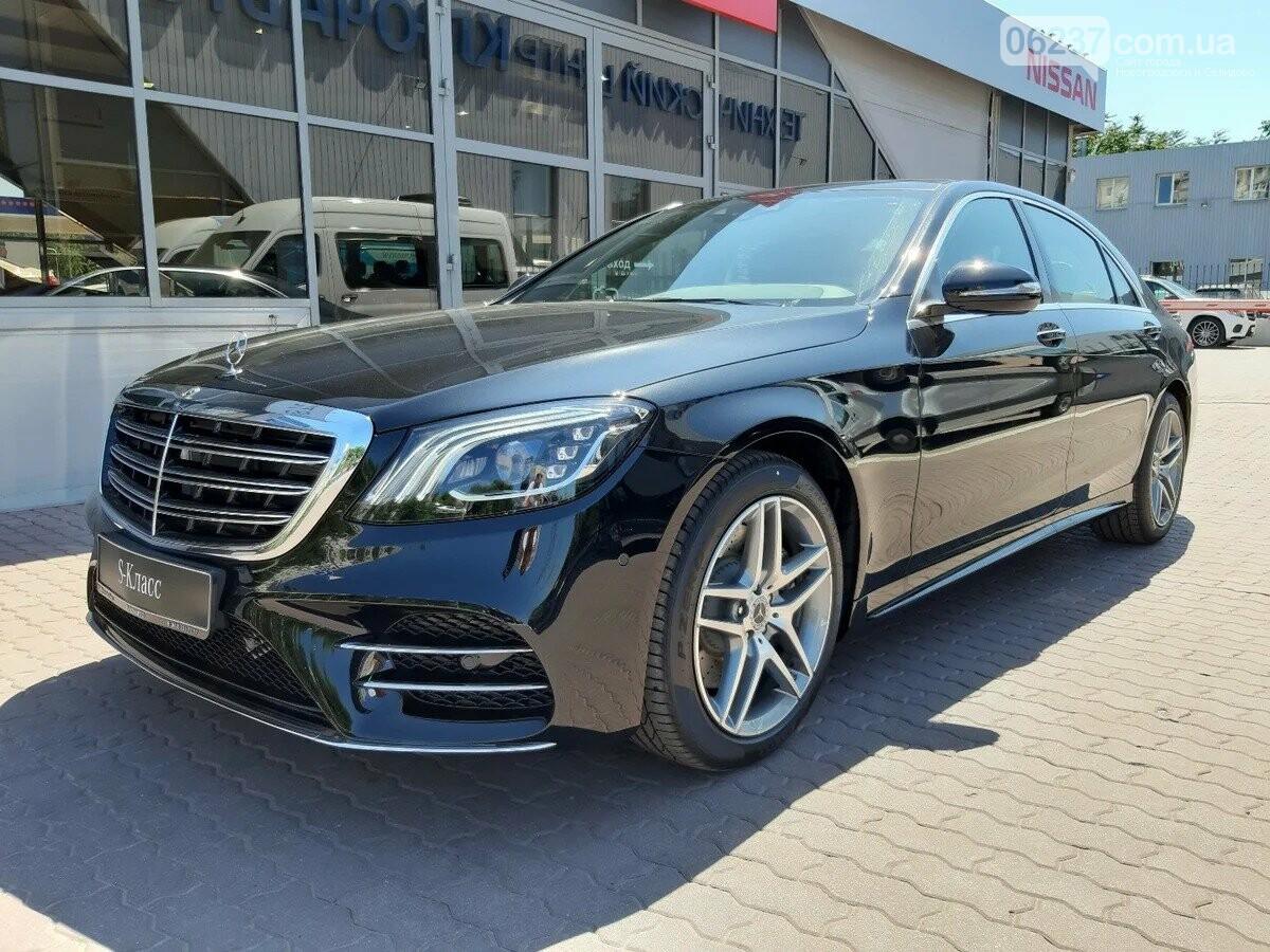 Глава ОП Ермак взял и приобрел Mercedes за 3,2 миллиона гривен, фото-1