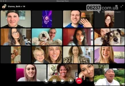 Facebook запускает сервис групповых видеозвонков, фото-1