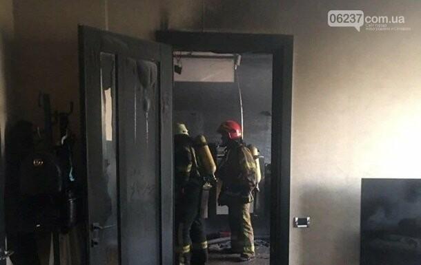 В центре Киева горела баня на 20 этаже жилого дома, фото-1