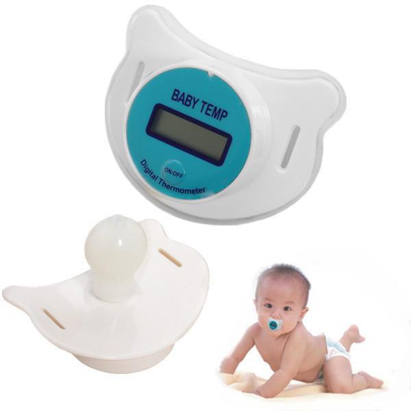 Соска-термометр для мгновенного измерения температуры малыша, фото-1