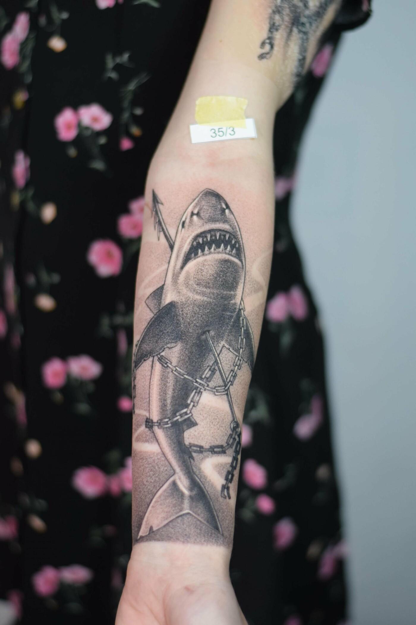 Уникальные тату от лучших мастеров Украины: WAVE TATTOO FEST 2021, фото-15